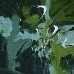 Mary Abbott, All Green, about 1954