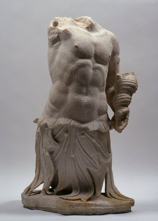 Triton Acroterion from the Great Altar, Greek