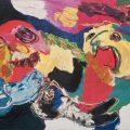 Karel Appel, Floating like the Wind, 1975