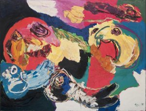 Karel Appel, Floating like the Wind, 1975