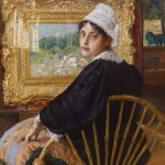William Merritt Chase, A Study (also known as The Artist's Wife)