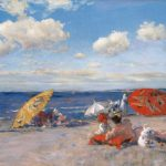 William Merritt Chase, At the Seaside