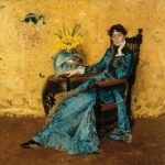 William Merritt Chase, Portrait of Dora Wheeler