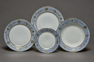 set of Sèvres plates designed by Roberto Matta