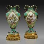 pair of Vases à Oreilles