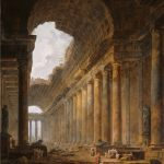 Hubert Robert, The Old Temple, 1787- 1788