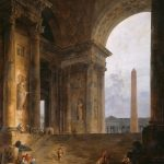 Hubert Robert, The Obelisk, 1733 -1808