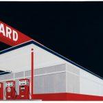 Ed Ruscha, Standard Station, Amarillo, Texas, 1963
