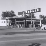 Standard Station, Amarillo, Texas, 1962