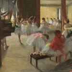 Edgar Degas, The Dance Class, circa 1873
