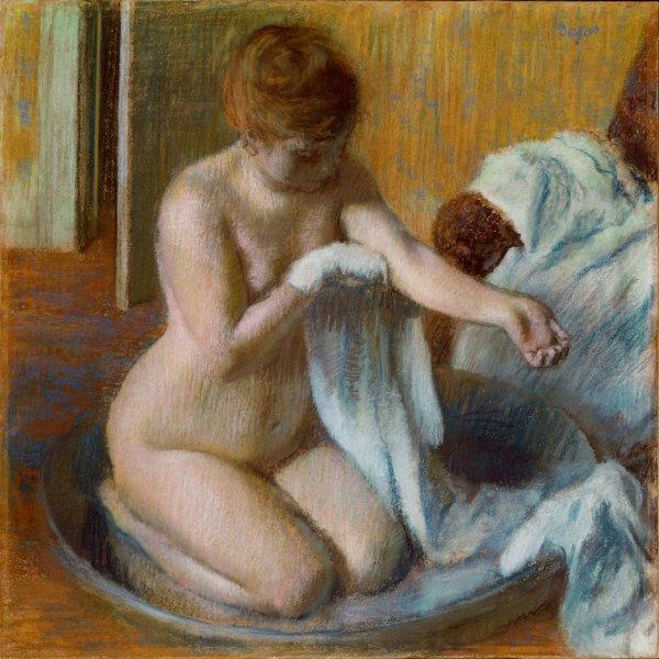Edgar Degas, Woman in a Tub, circa 1883