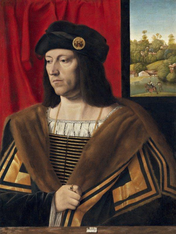 Bartolomeo Veneto, Portrait of a Gentleman