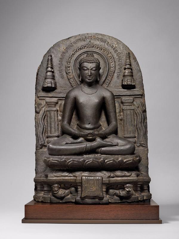 Buddha Amitabha, Eastern India, Bihar, Gaya region, Pala Dynasty
