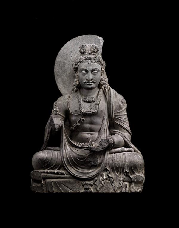 Bodhisattva Maitreya, Pakistan, ancient region of Gandhara, circa 3rd century