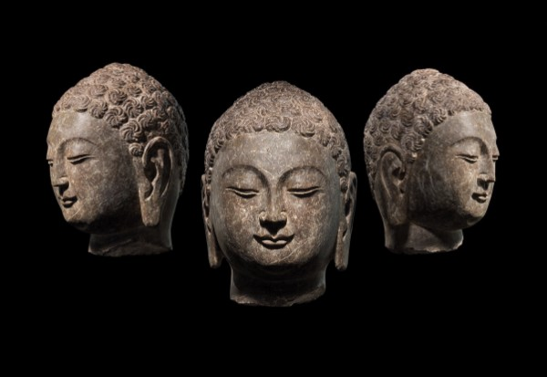Head of Buddha, China, Northern Qi Period, 550-577