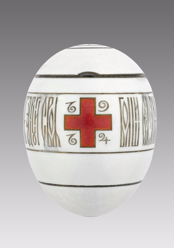 Fabergé firm (Russian), Imperial Red Cross Easter Egg, 20th century