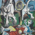 Pablo Picasso, Rape of the Sabine Women, 1963