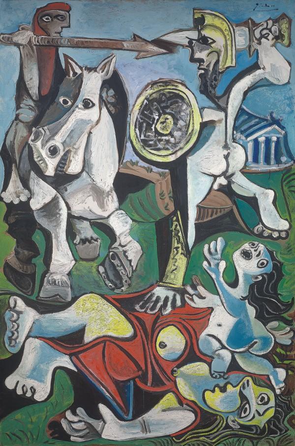 Pablo Picasso, Rape of the Sabine Women, 1963