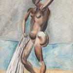 Pablo Picasso, Bather, winter 1908–09