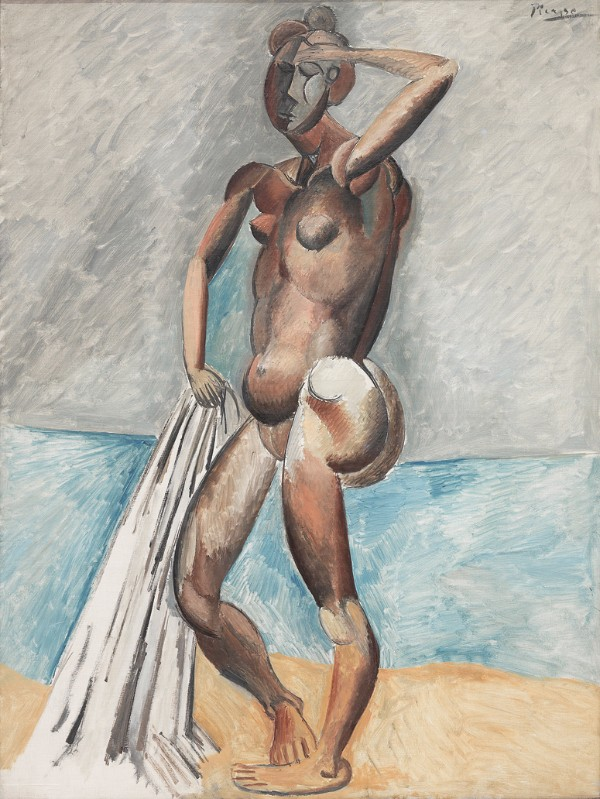 Pablo Picasso, Bather, winter 1908–09