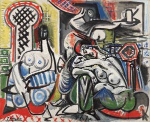 Pablo Picasso, The Women of Algiers (after Delacroix), 1954