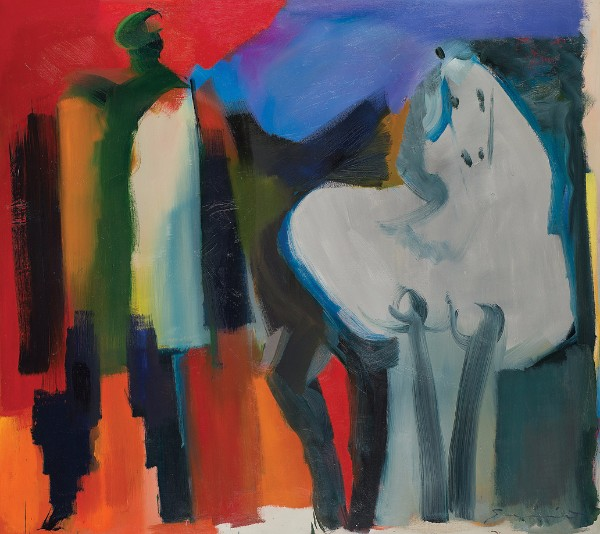 Walter Quirt, Man and Horse, 1959–62