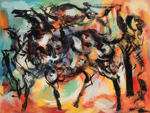 Walter Quirt, Creation/Horse, circa 1961