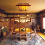 The Gamble House, dining room;