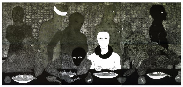 Belkis Ayon, La cena (The Supper)