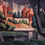 Oscar Bluemner, Sunset Effect on Rain, 1929