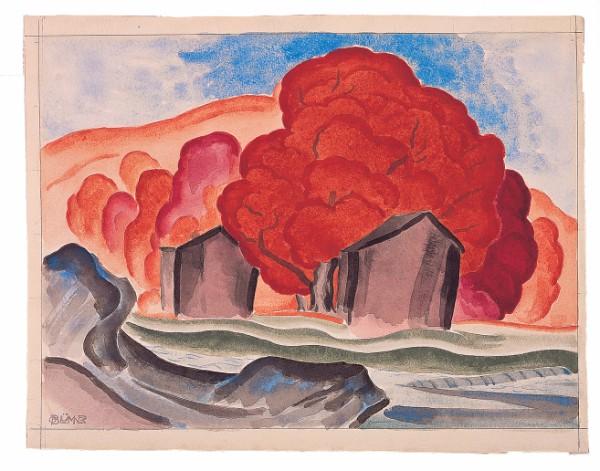 Oscar Bluemner, Ripe Autumn, 1924