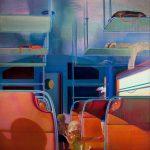 Leonardo Cremonini, Les parenthes du voyage, 1977-1978