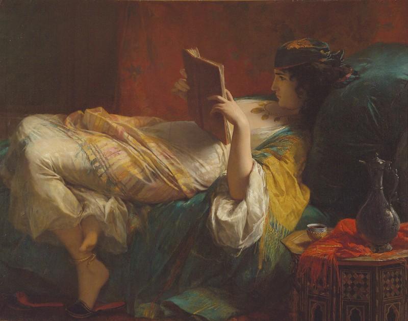 Édouard Louis Dubufe, Lady of the Harem