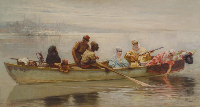Frederick Arthur Bridgman, Morning on the Bosphorus