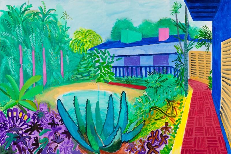 David Hockney, Garden 2015