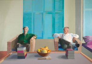David Hockney, Christopher Isherwood and Don Bachardy