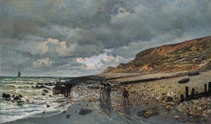 Claude Monet, The Pointe de La Héve at Low Tide