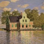 Claude Monet, House by the Zaan at Zaandam