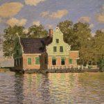 Claude Monet, House by the Zaan at Zaandam