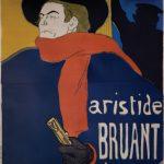 Henri de Toulouse-Lautrec, Ambassadeurs Aristide Bruant dans son Cabaret, 1892