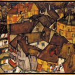 Egon Schiele, Krumau – Crescent of Houses (The Small City V)