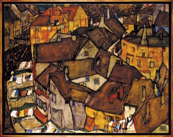 Egon Schiele, Krumau – Crescent of Houses (The Small City V)