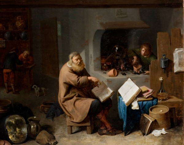 David Ryckaert III, The Alchemist