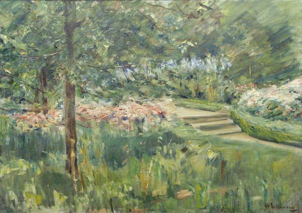 Max Liebermann, Garden in Wannsee