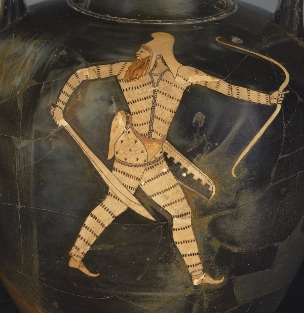 Greek, Attic, attributed to the Berlin Painter, Red-figure amphora