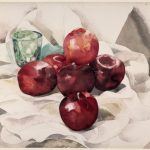 Charles Demuth, Still Life: Apples and Green Glass,