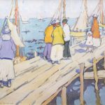 Jane Peterson, The Pier, Edgartown