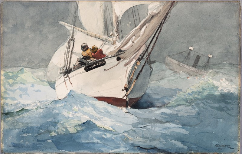Winslow Homer, Diamond Shoal, 1905