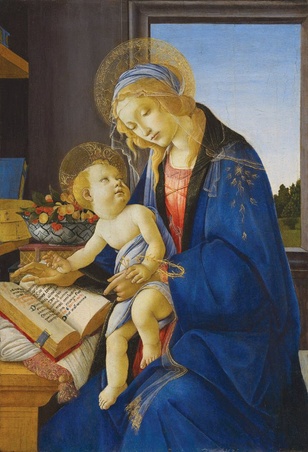 Sandro Botticelli, Madonna of the Book
