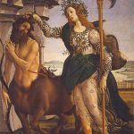 Sandro Botticelli, Pallas and the Centaur